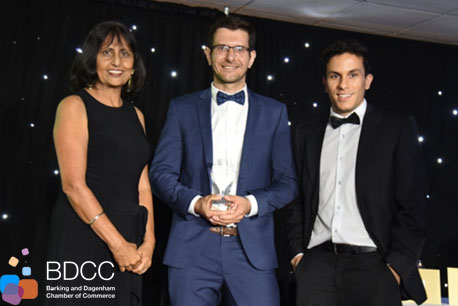 SCS wins BDCC Business of the Year award 2017