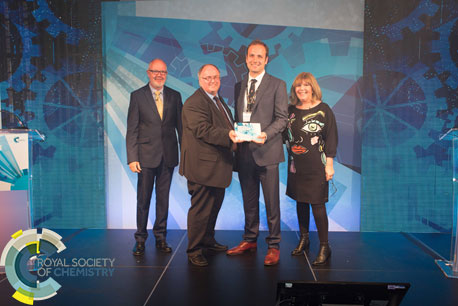 SCS wins prestigious Royal Society of Chemistry Prize